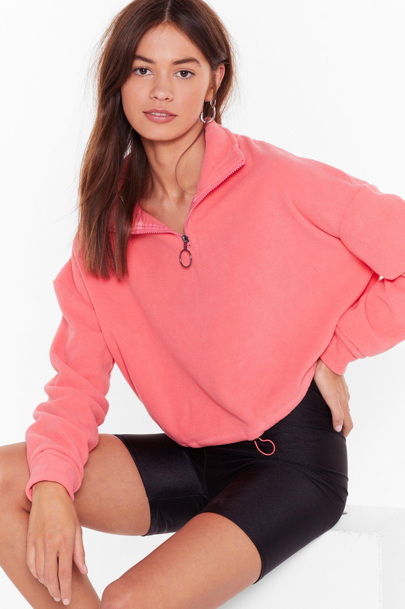 Image of Shake Your Zips Cropped Sweater