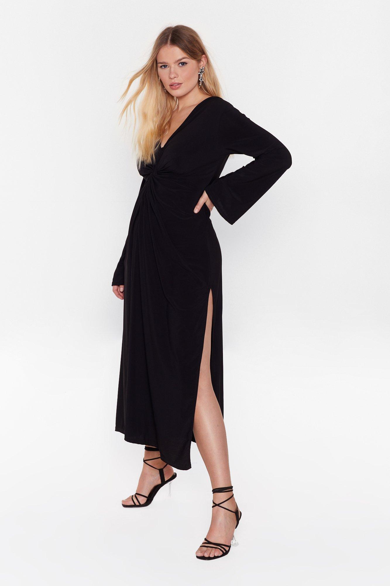 Image of Twistin' the Night Away Plus Maxi Dress