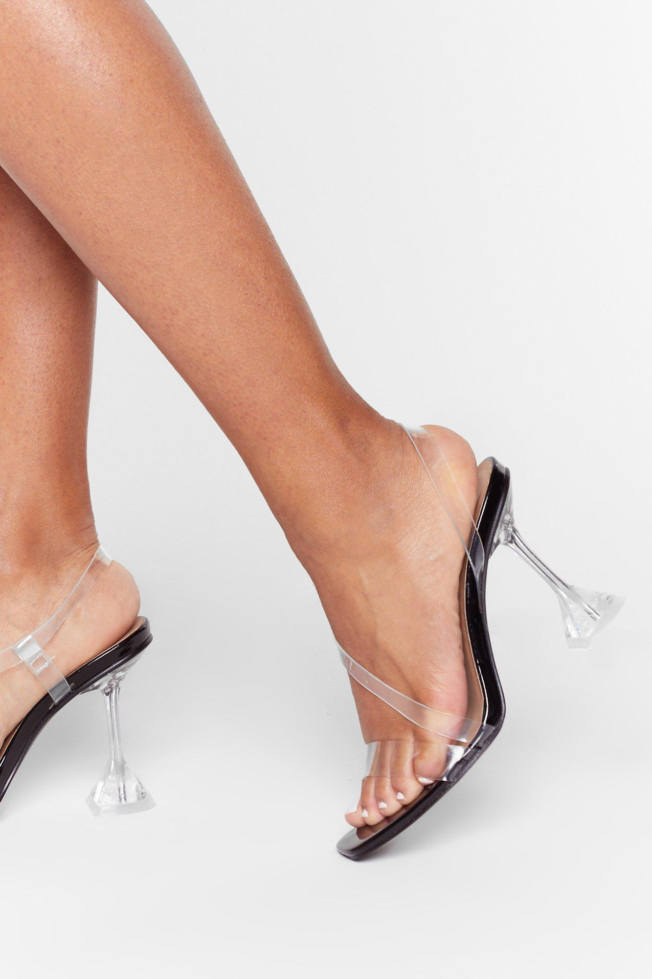Image of Have No Clear Strappy Stiletto Heels