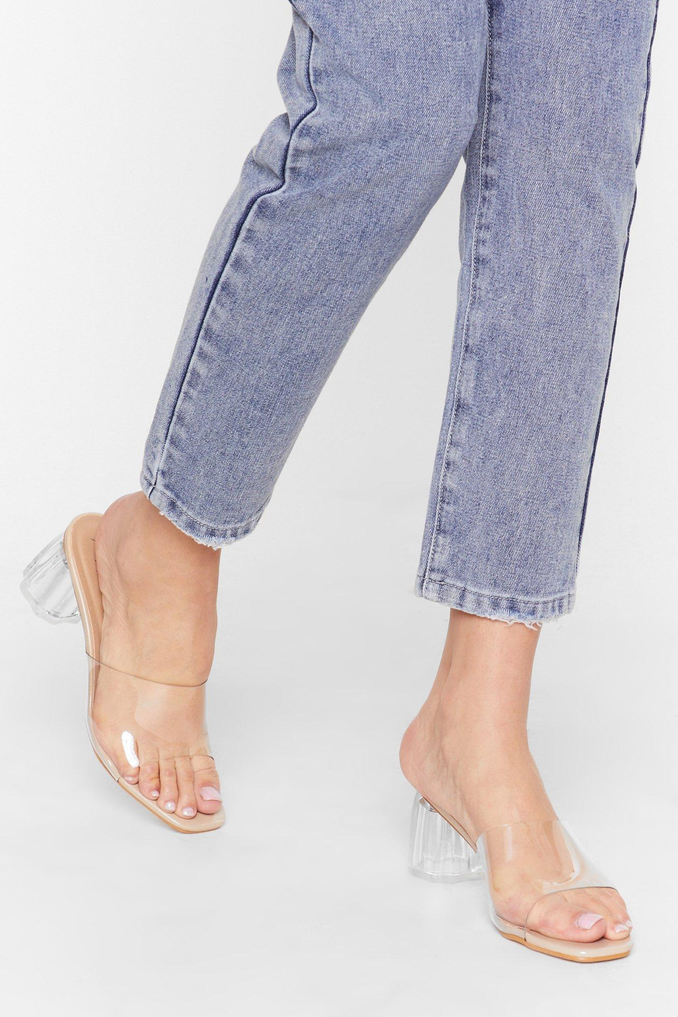 Image of Clear Your Schedule Block Heel Mules
