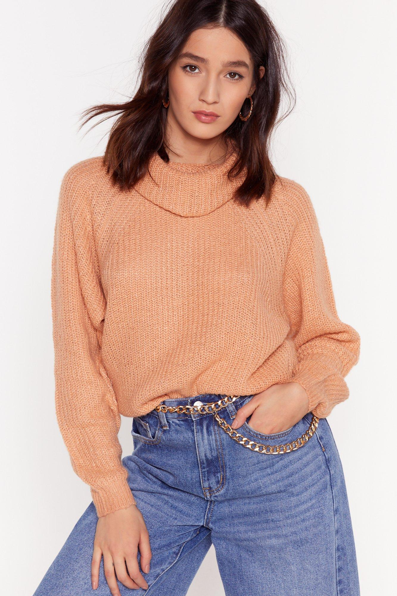 Image of Honor Roll Relaxed Turtleneck Sweater