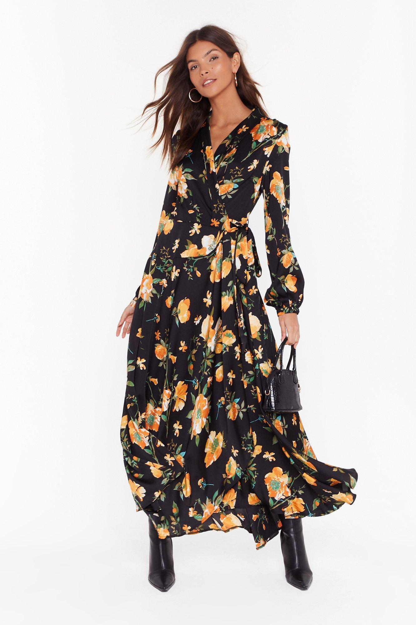Image of Call Me Mother Nature Floral Maxi Dress