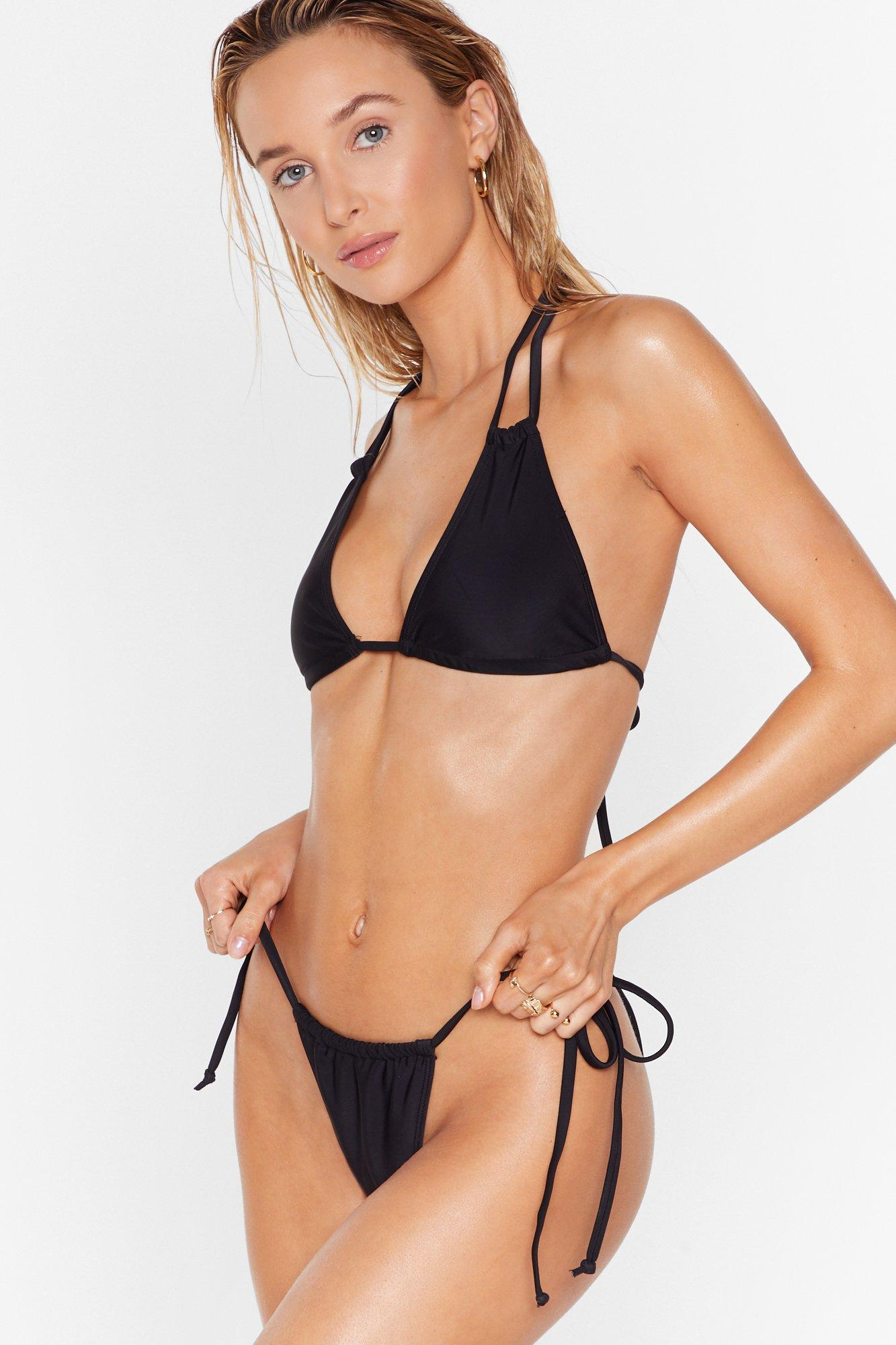 Image of 'Tis the Sea-son Strappy Triangle Bikini Set