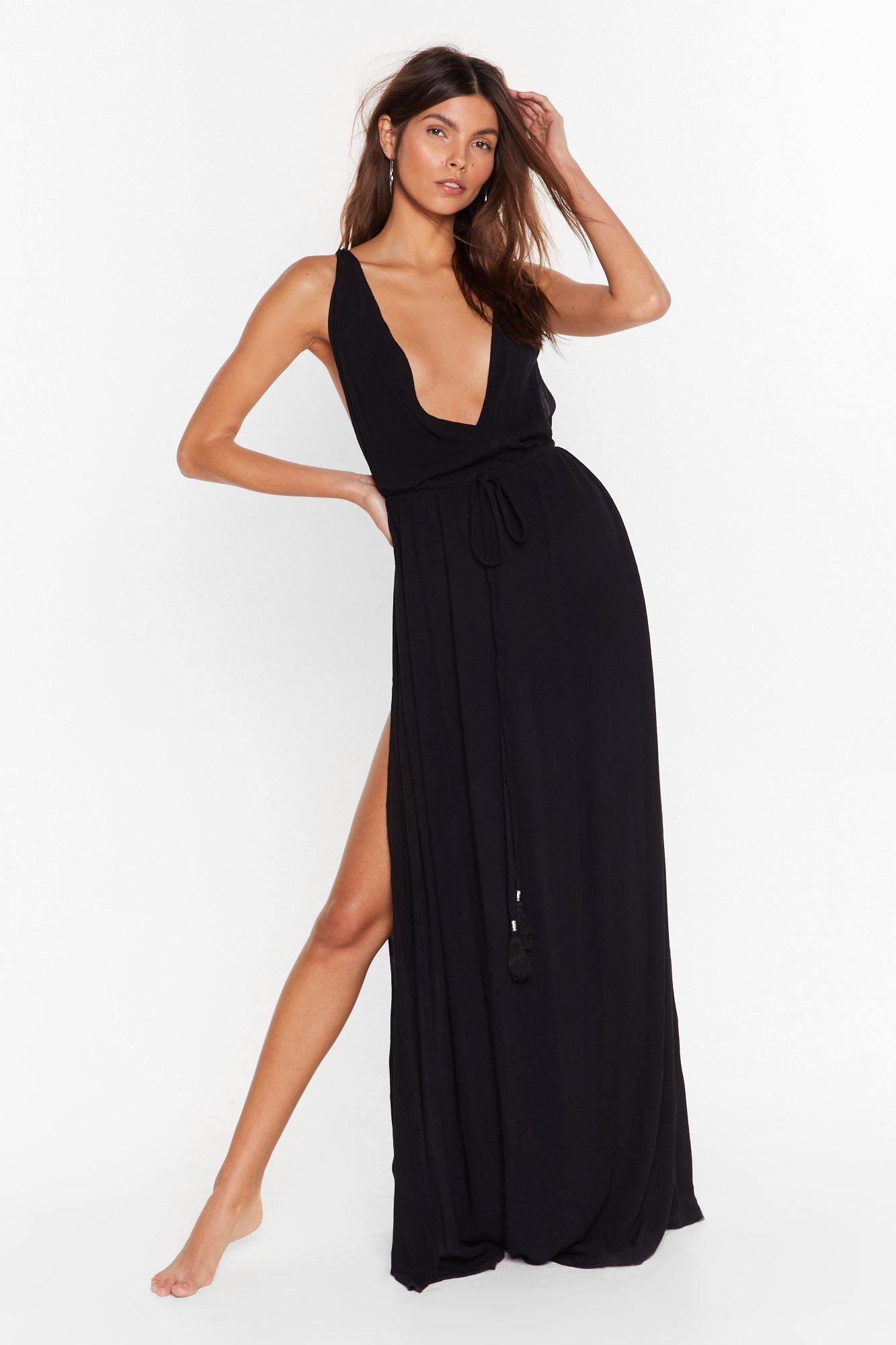Image of Beach You to It Cover-Up Maxi Dress