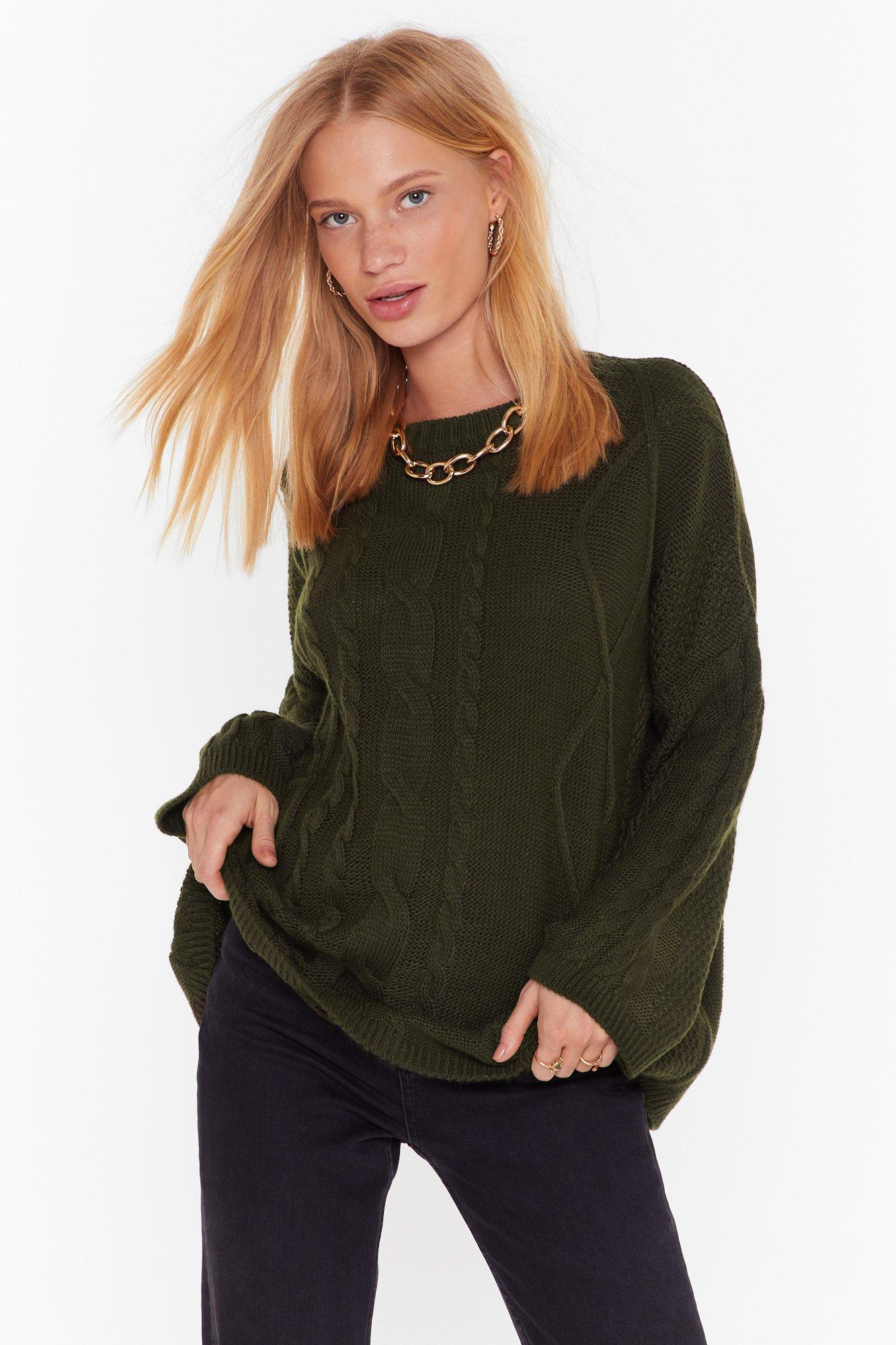 Image of Be Done With Knit Relaxed Sweater