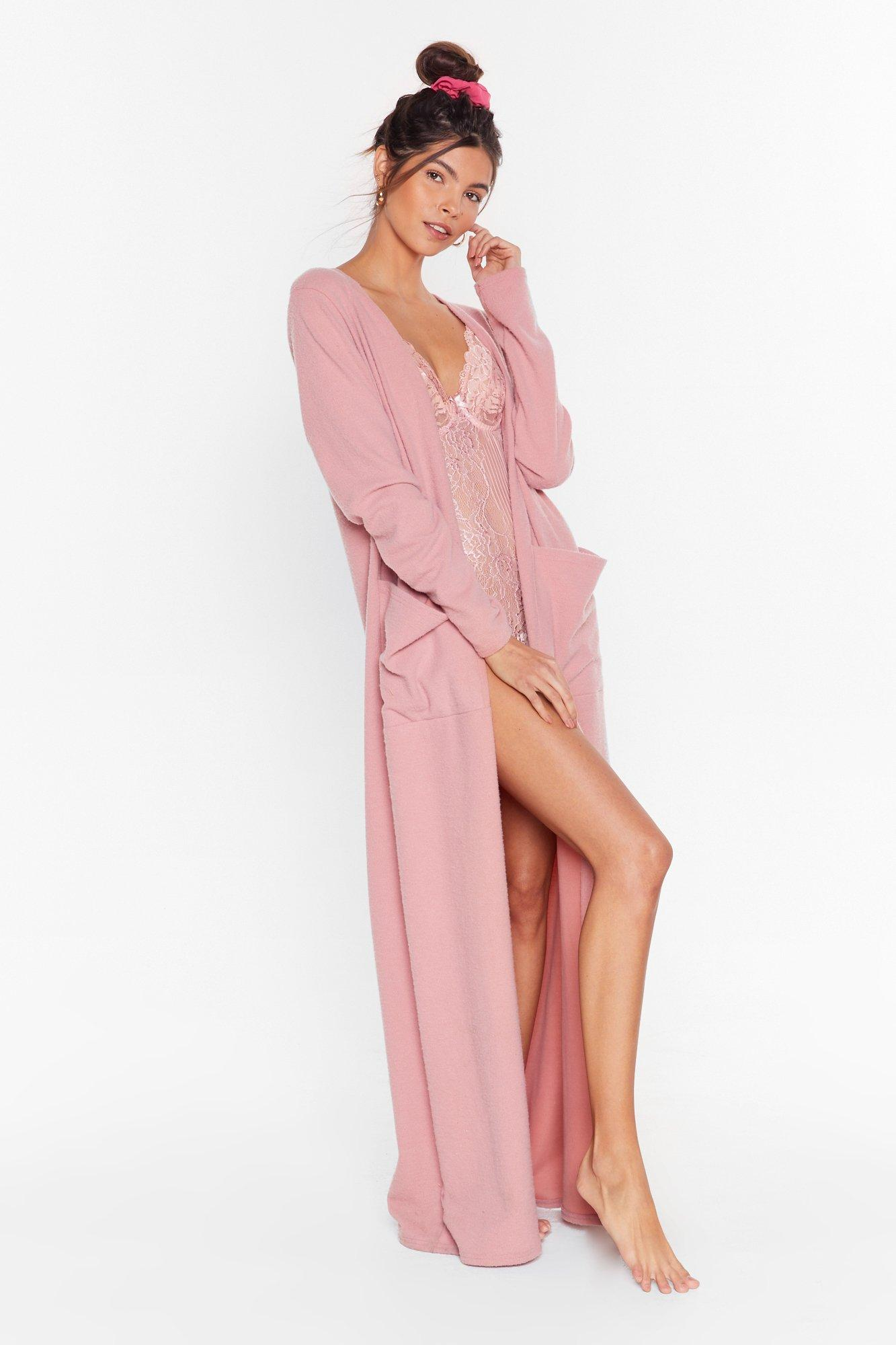 Image of Recycled Such a Softy Longline Cardigan