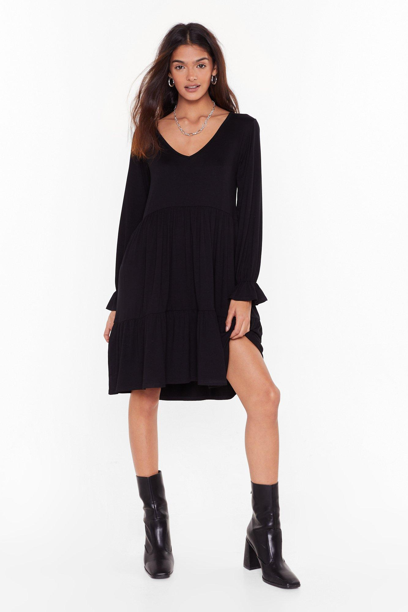 Image of Smock It to Me Relaxed Mini Dress