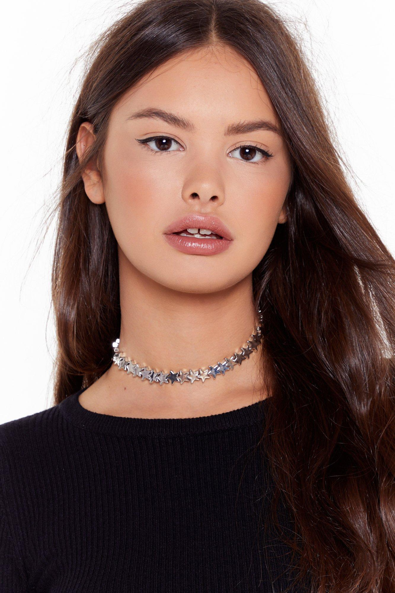 Image of Born to Be a Star Choker Necklace