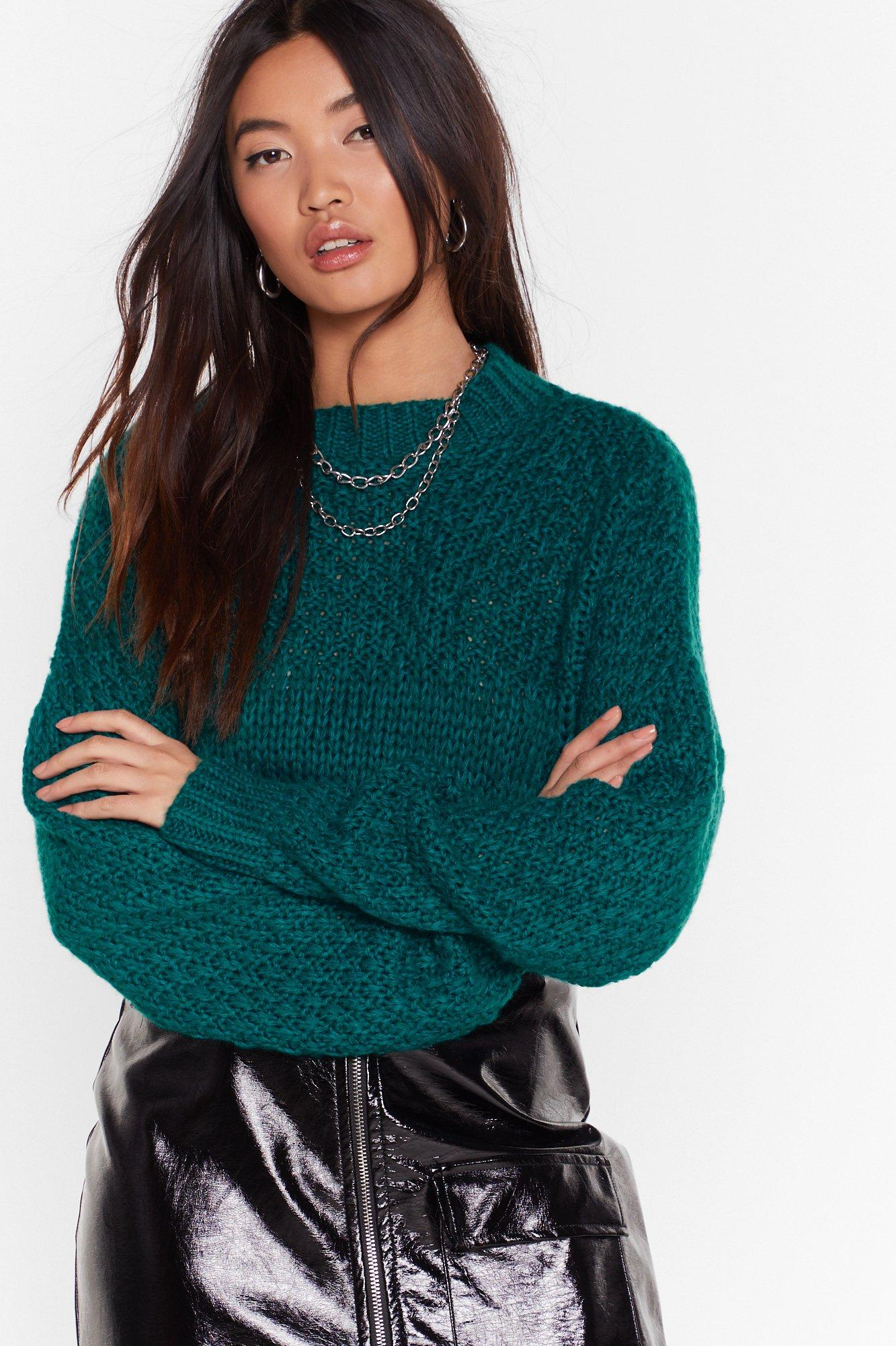 Image of Have Knit All Crew Neck Sweater