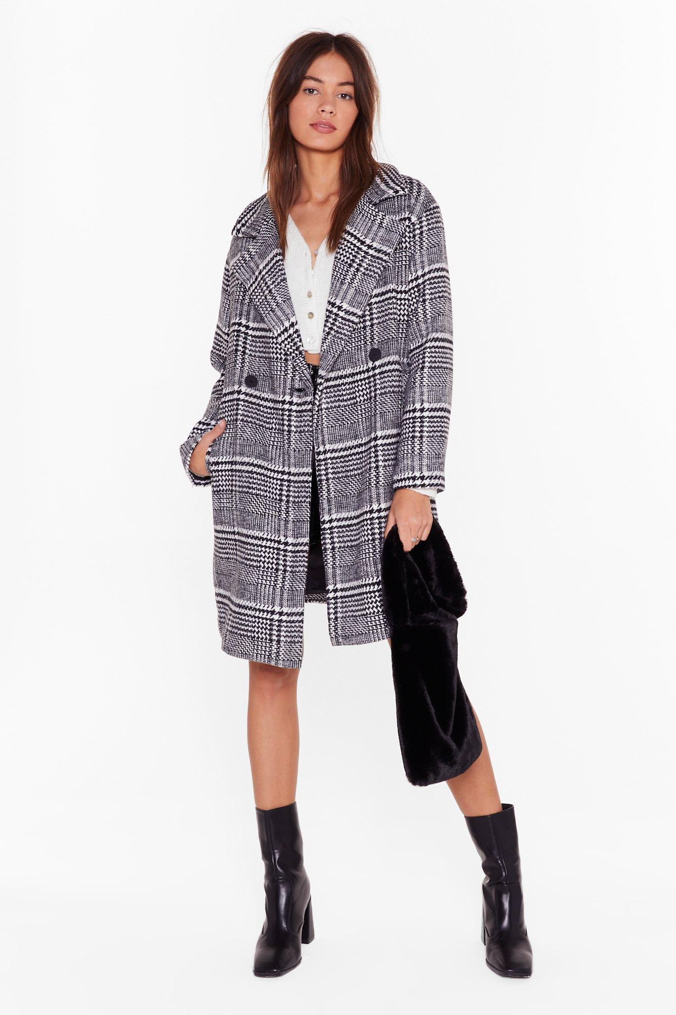 Image of Keep You in Check Longline Coat