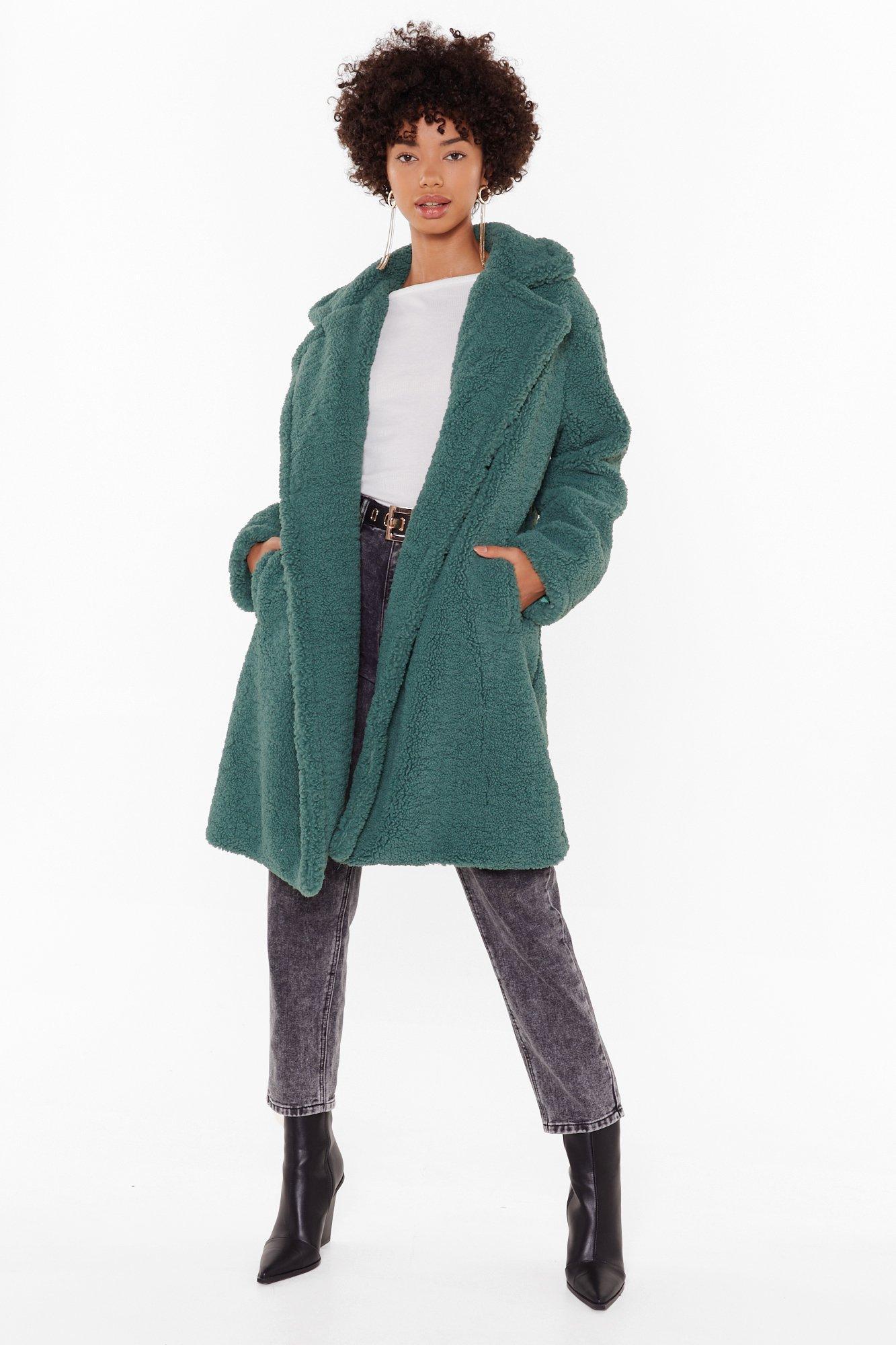 Image of Miles Fur Hour Faux Fur Longline Coat