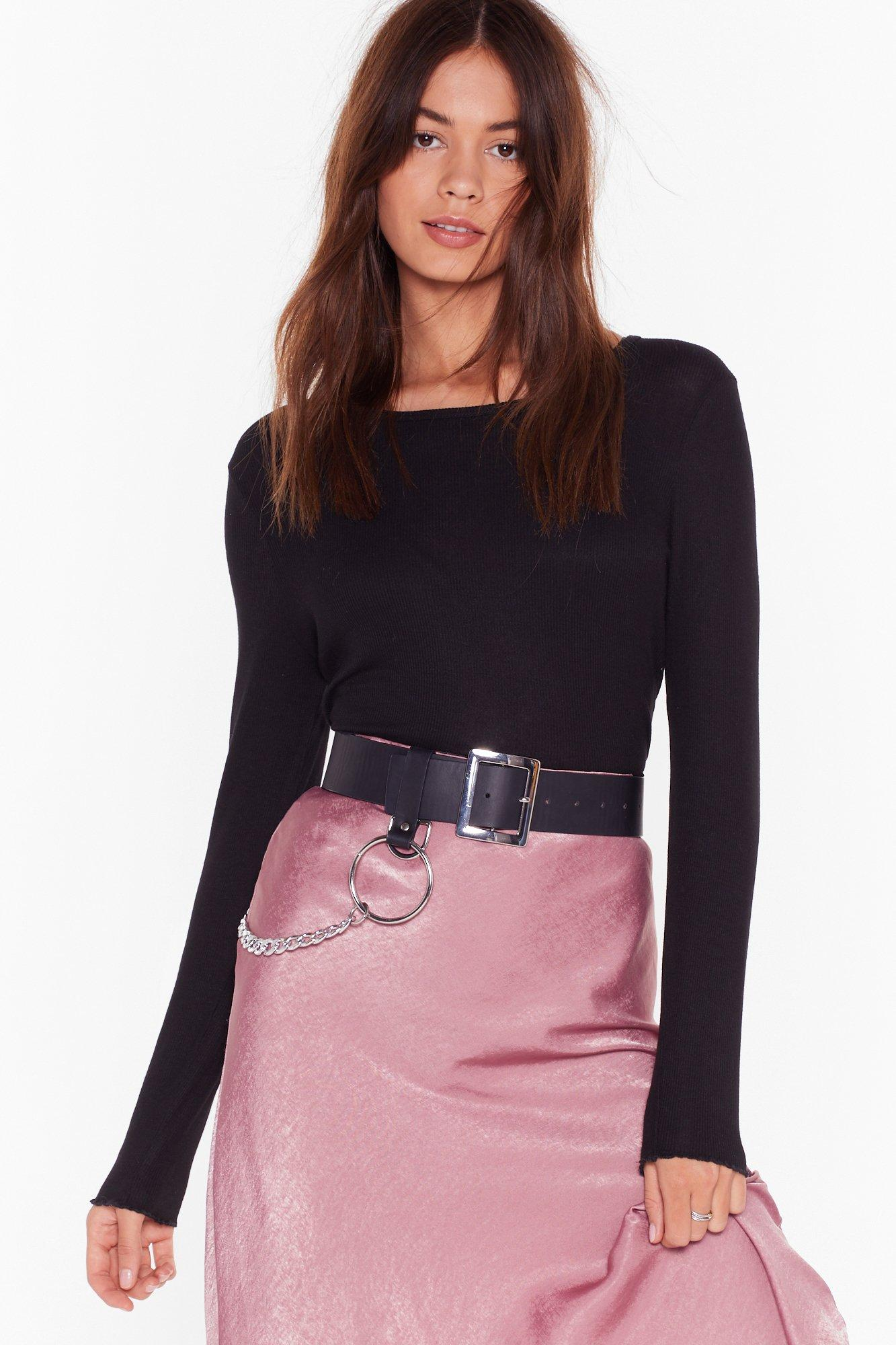 Image of Leave Rib to Me Frill Crop Top
