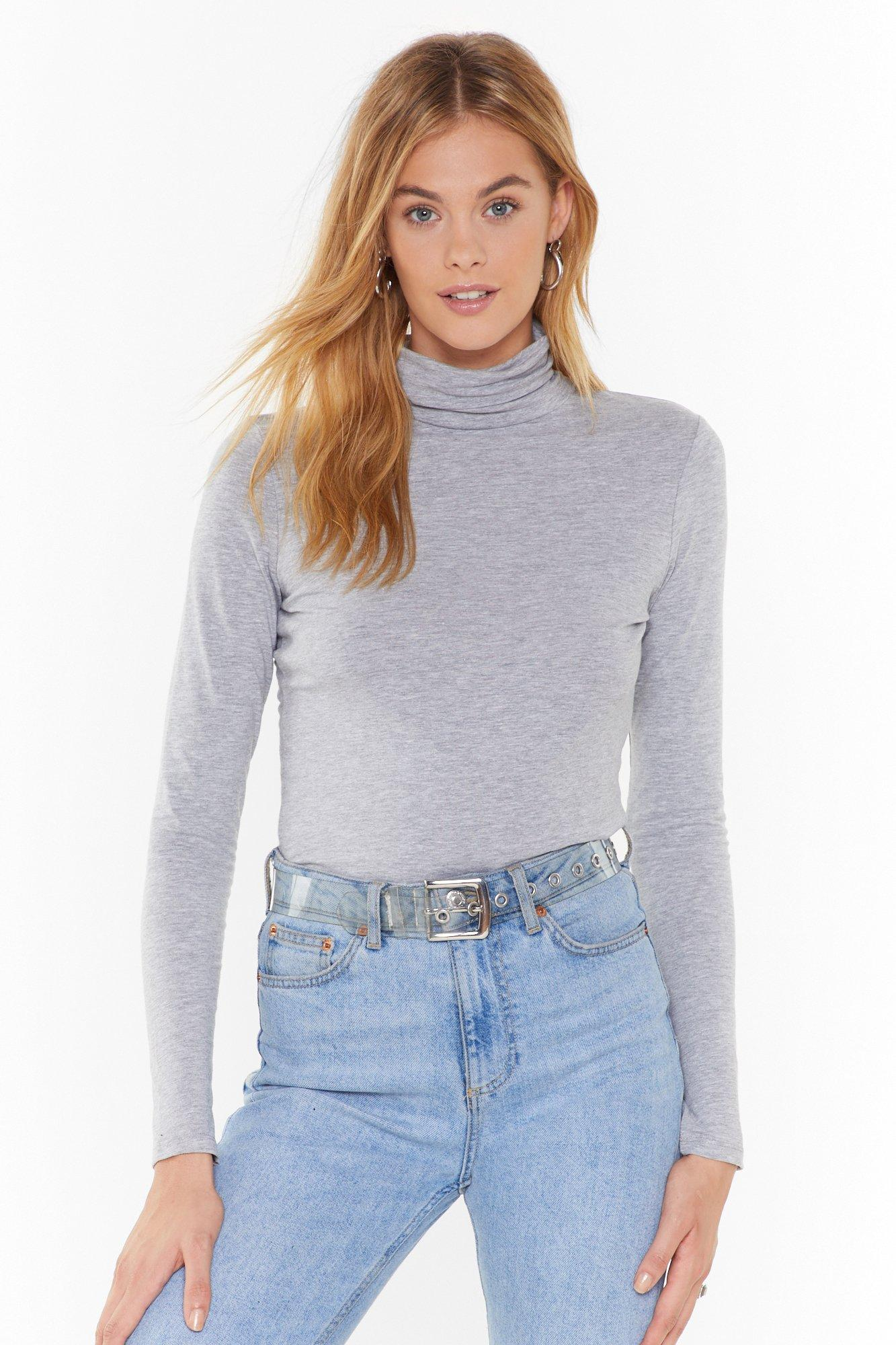 Image of Such a High Roll Turtleneck Sweater
