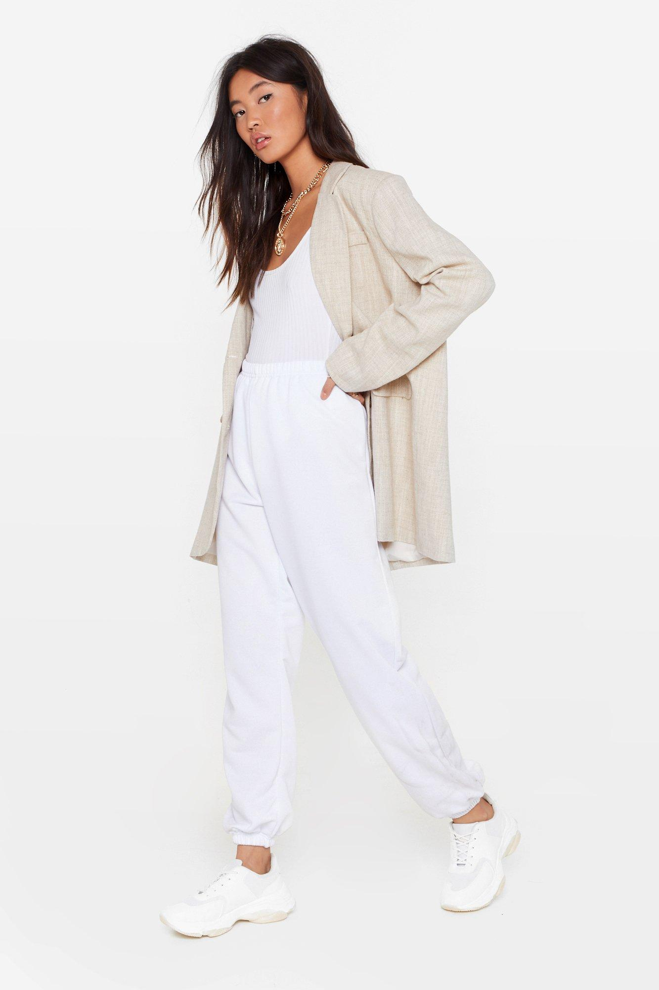 Image of On the Run High-Waisted Joggers