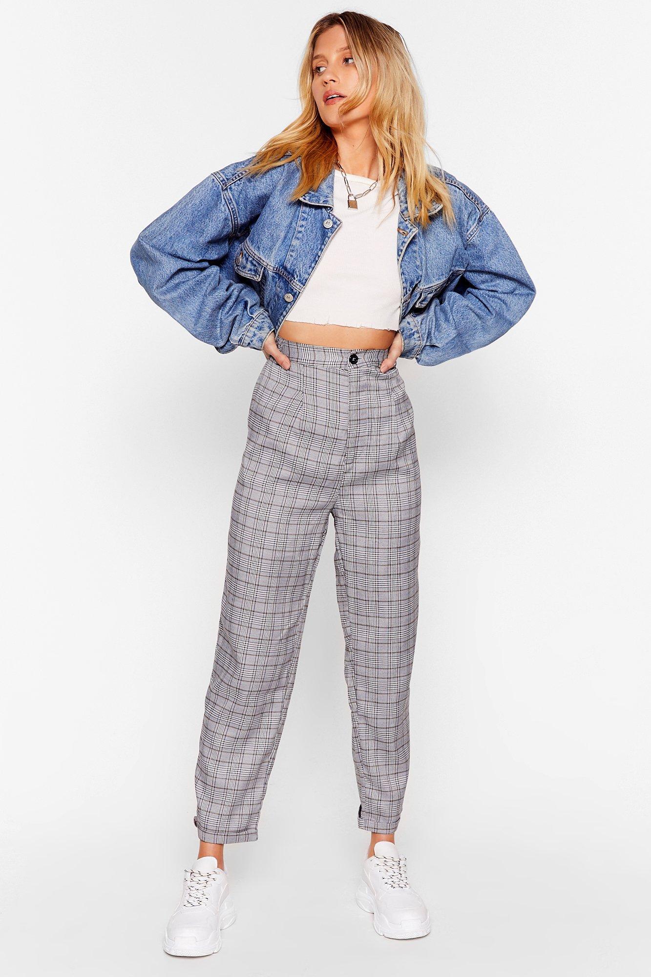Image of Checkin' Up on You High-Waisted Pants