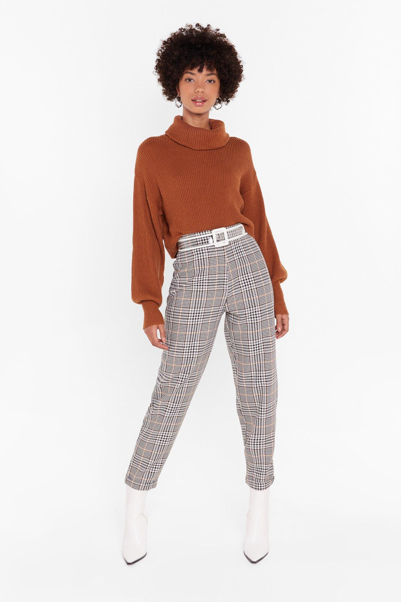 Image of Check Who's Goin' First Tapered Pants