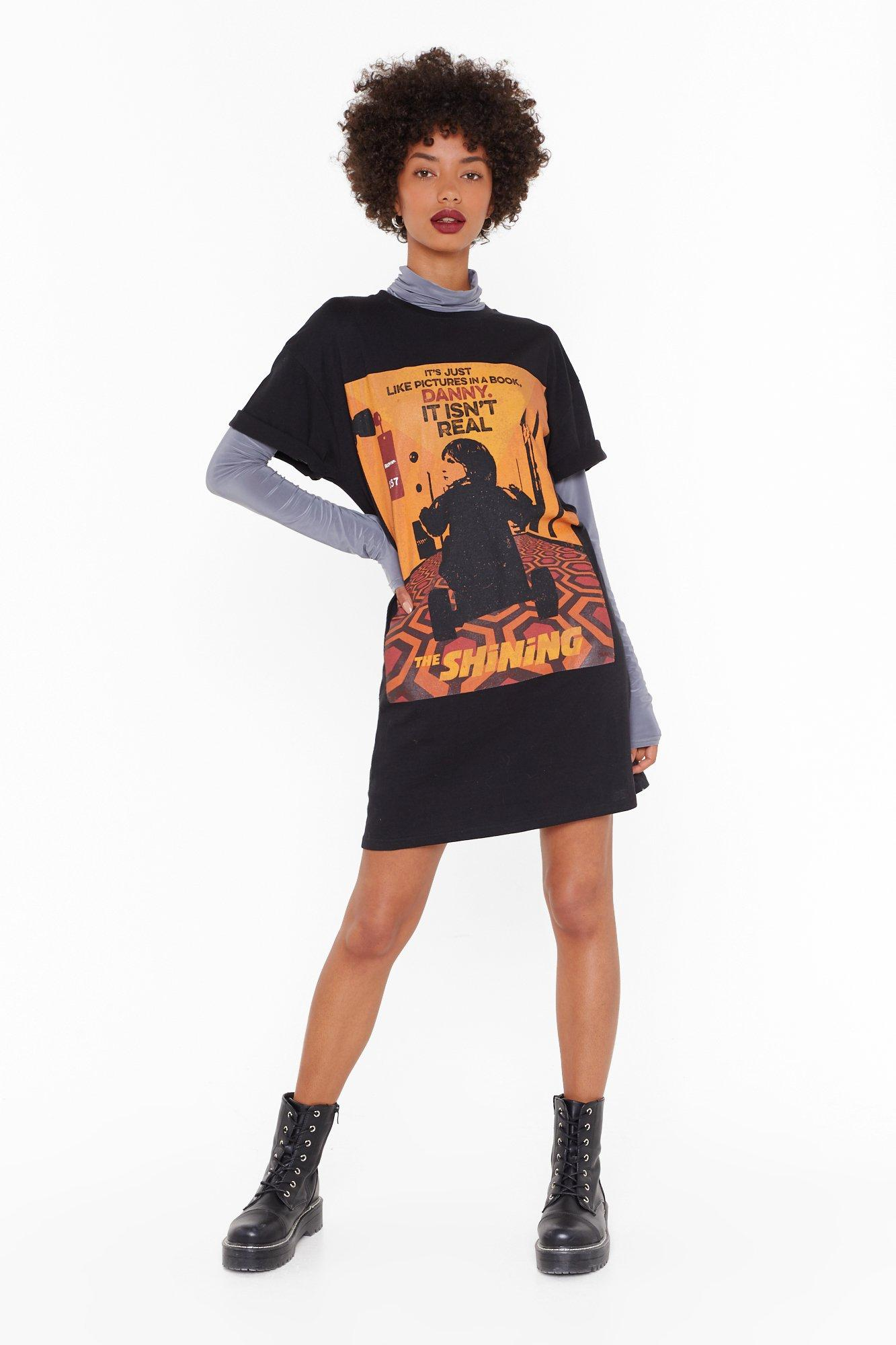 Image of The Shining Graphic Tee Dress