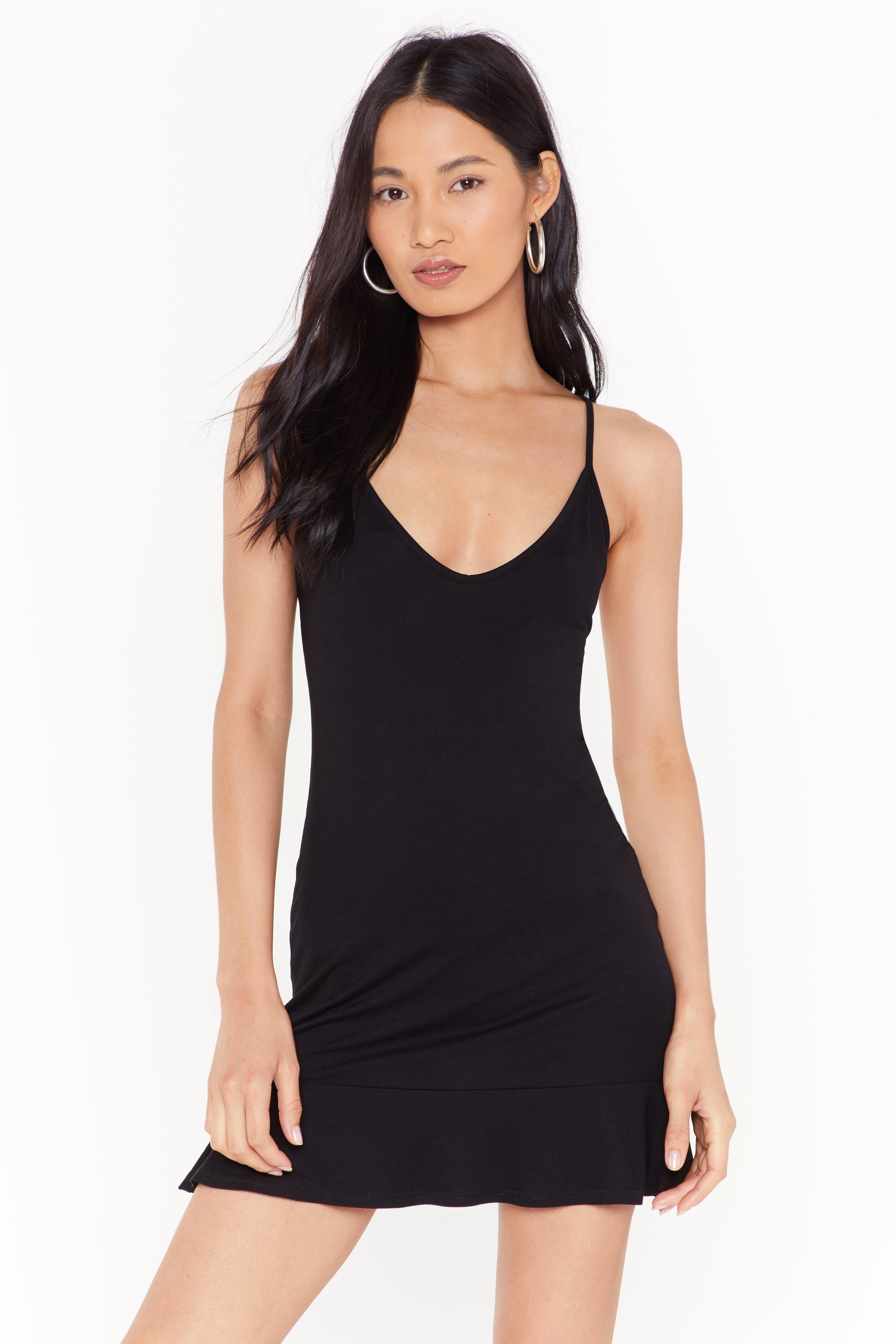 Image of Give You the Lowdown Strappy Mini Dress