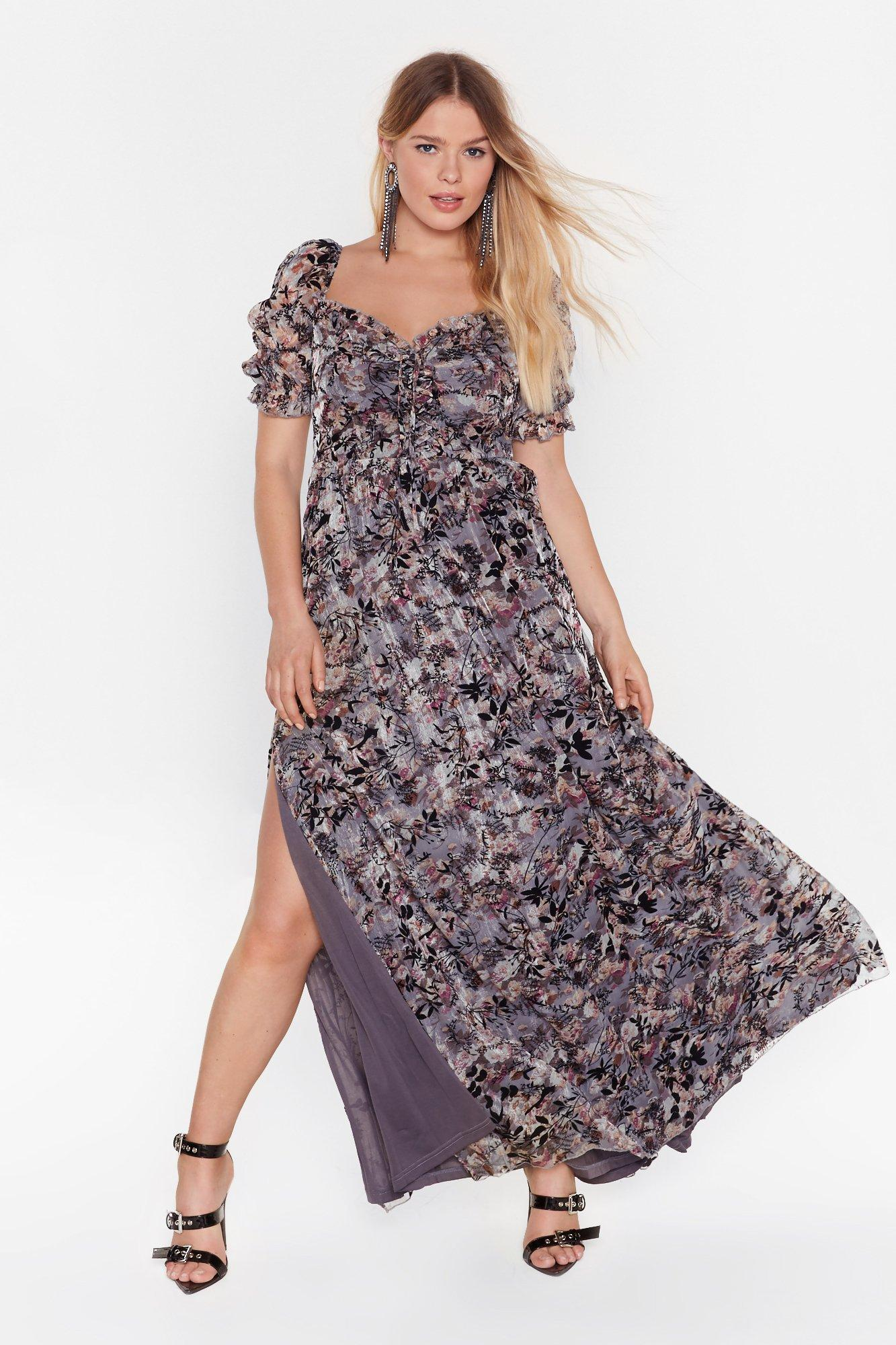 Image of Best of the Bunch Floral Midi Dress