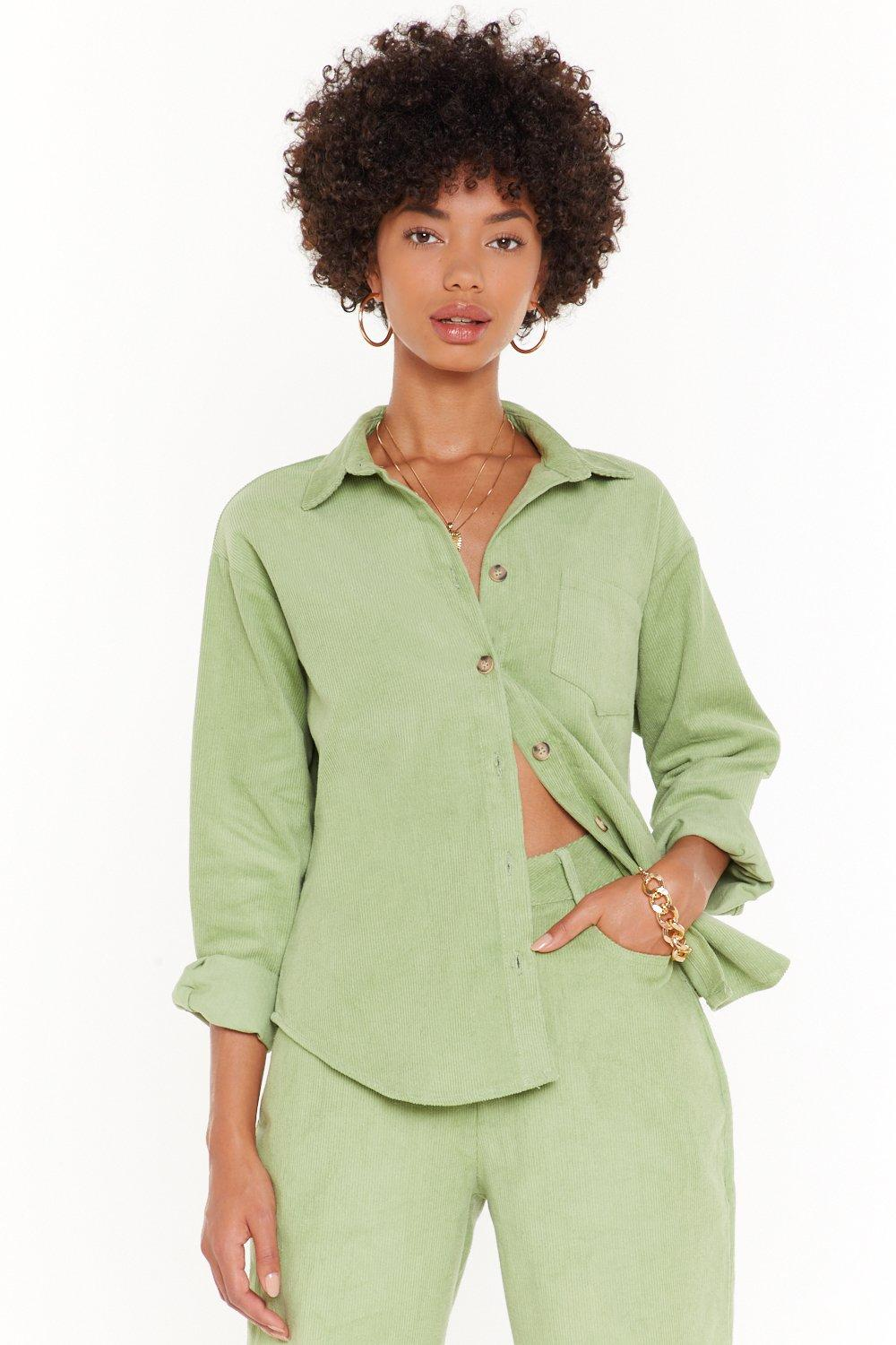 Image of It Suits You Corduroy Shirt