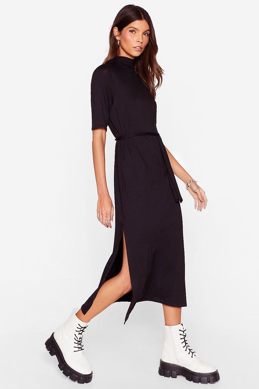 Image of Tee BT Belted Midi Dress
