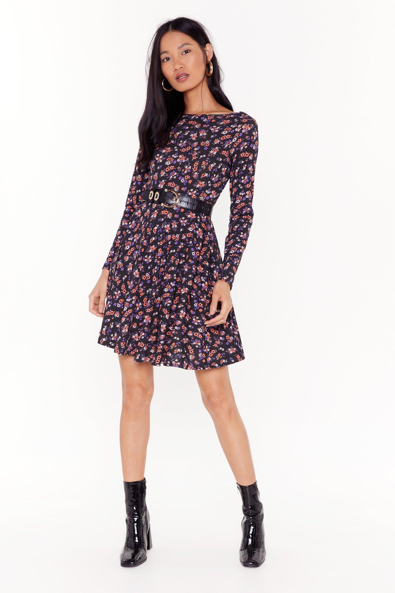 Image of Our Finest Flower Floral Mini Dress