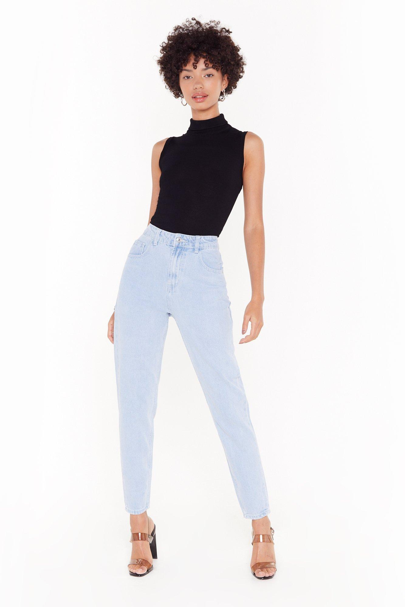 Image of Don't Forget to Say High-Waisted Mom Jeans
