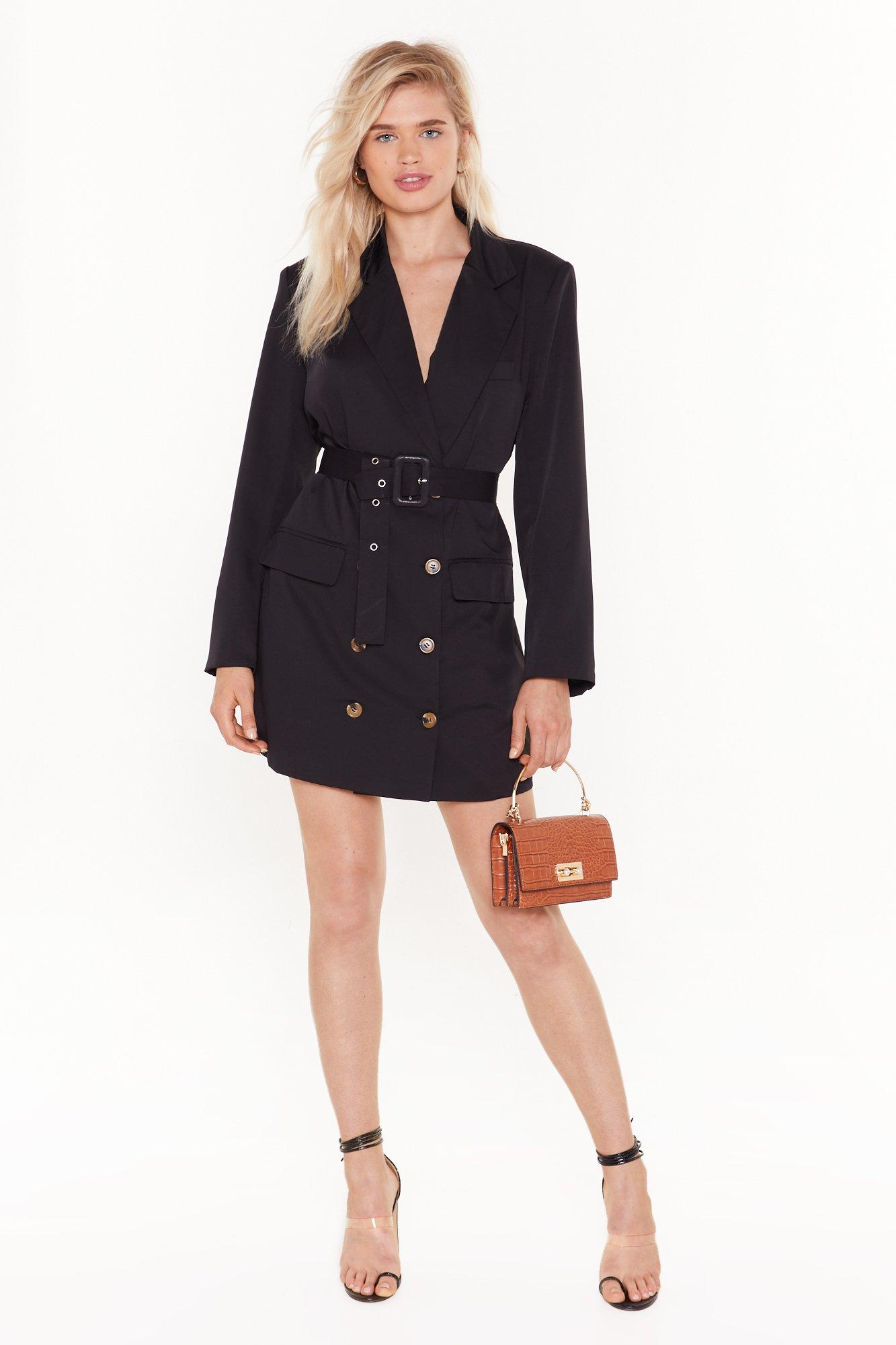 Image of We've Got the Power Oversized Blazer Dress