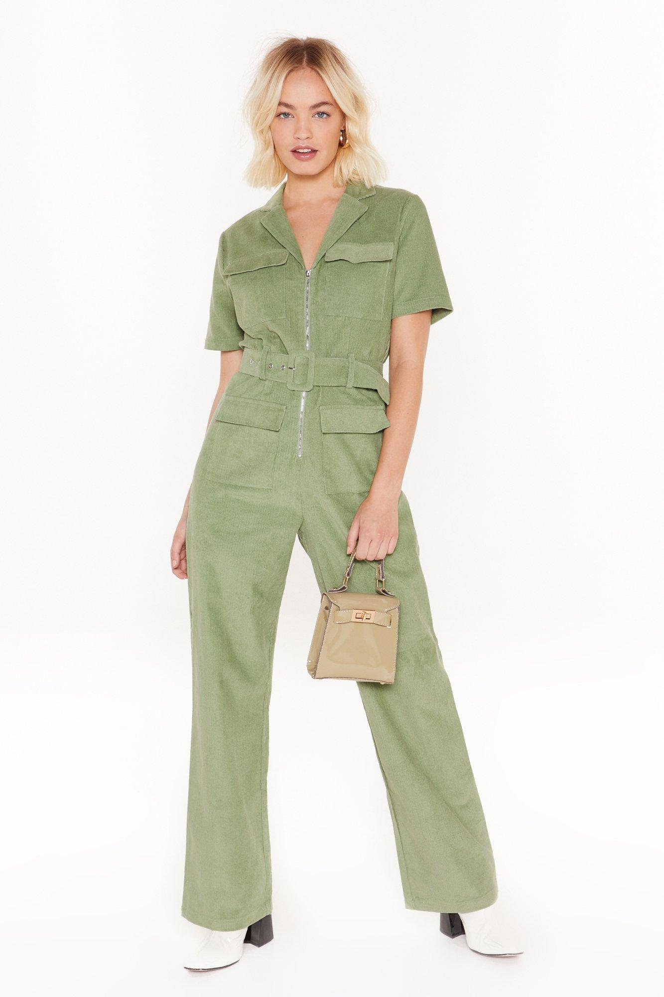 Image of Ac-cord-ing to Us Belted Boilersuit