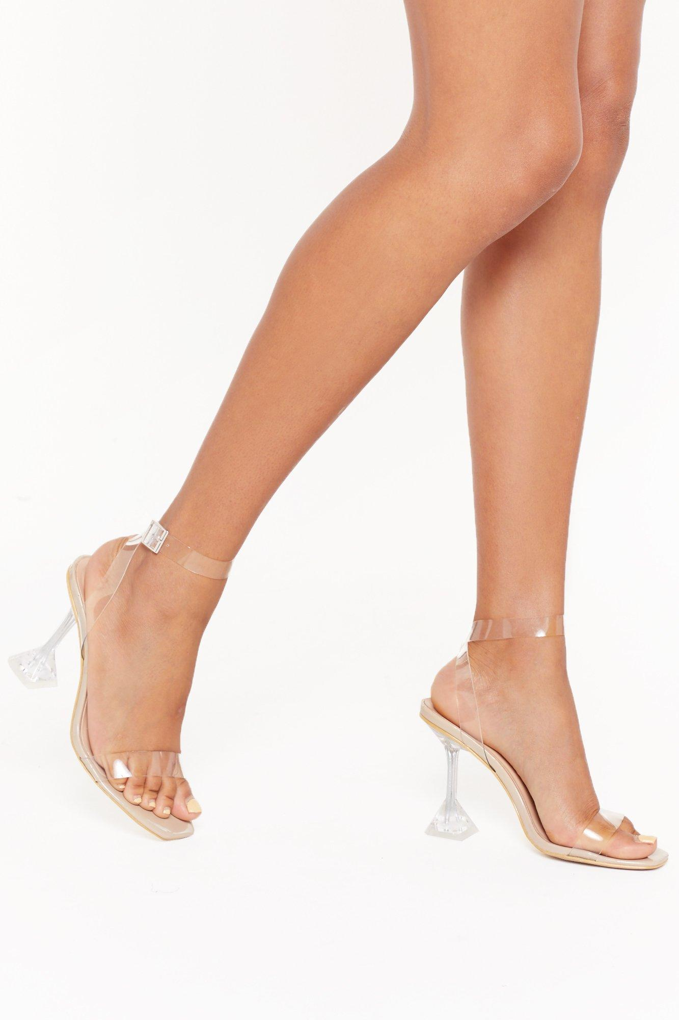 Image of It's All So Clear Now Stiletto Heels