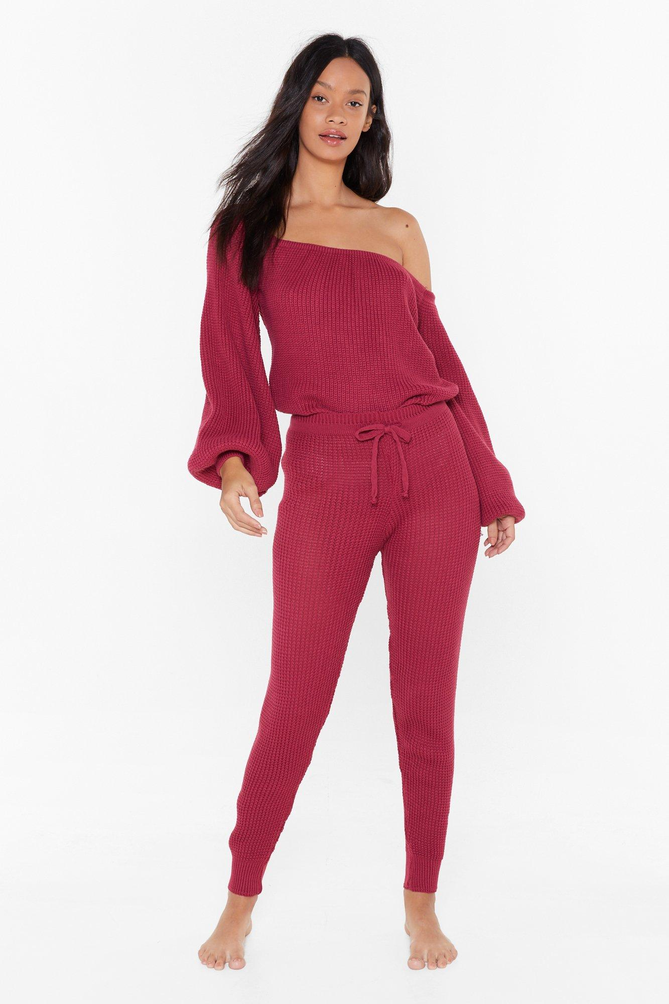 Image of Big Be-sleever Sweater and Joggers Lounge Set