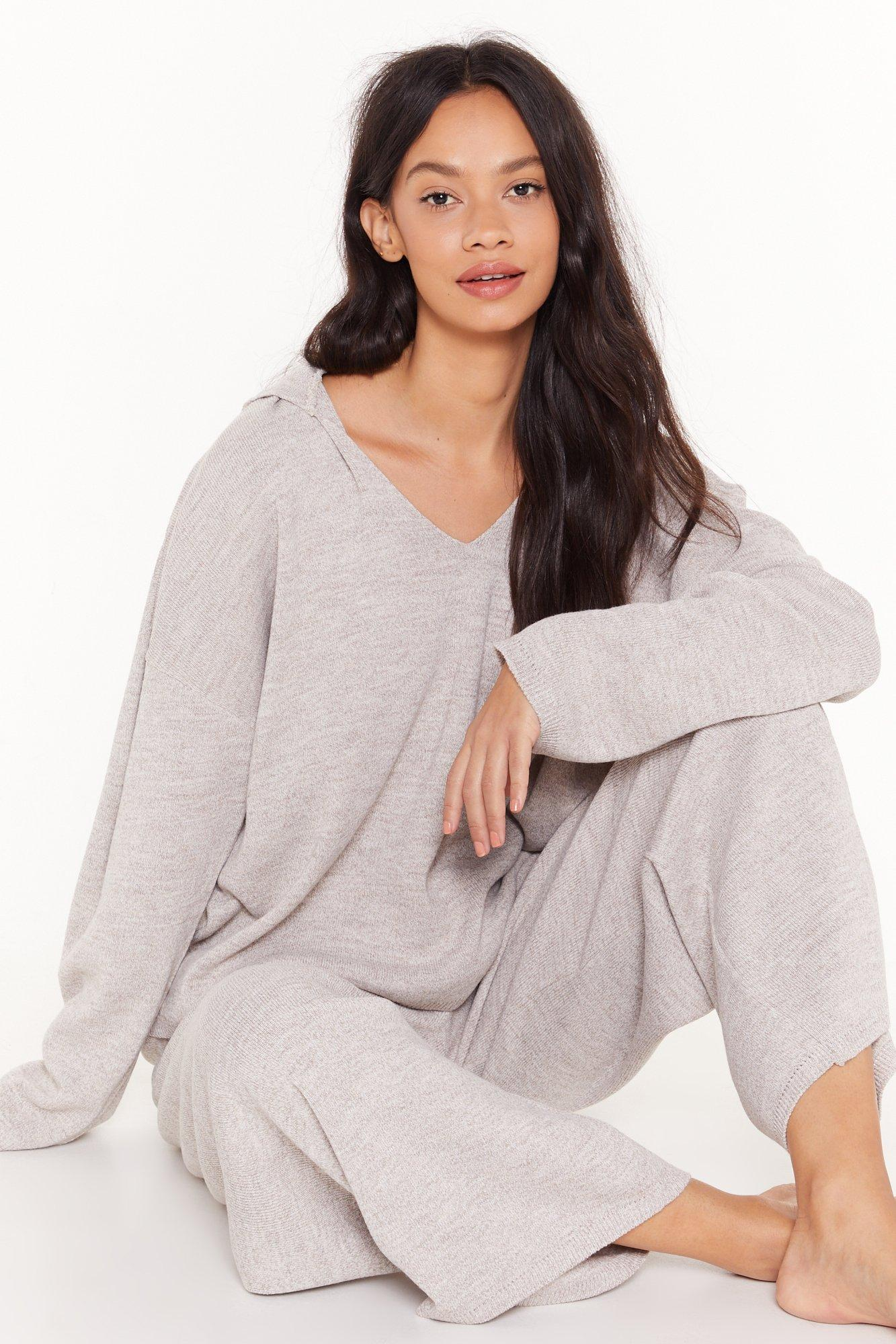 Image of By Your Side Sweater and Wide-Leg Pants Set