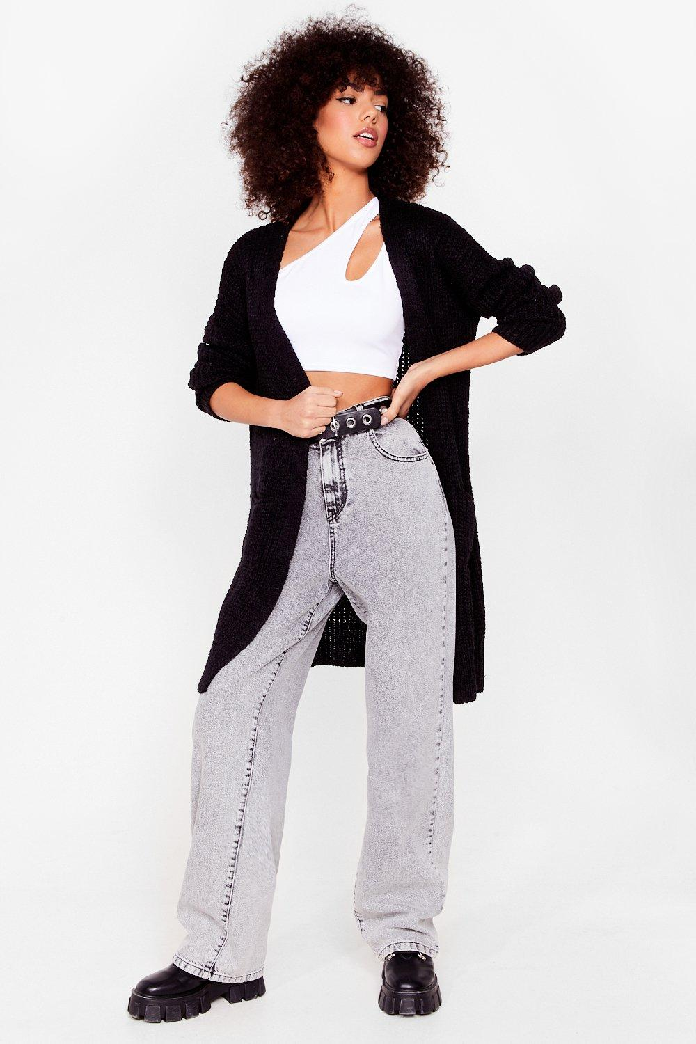 Image of Knit Ain't Over Longline Cardigan