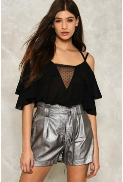 Mona Cold Shoulder Top