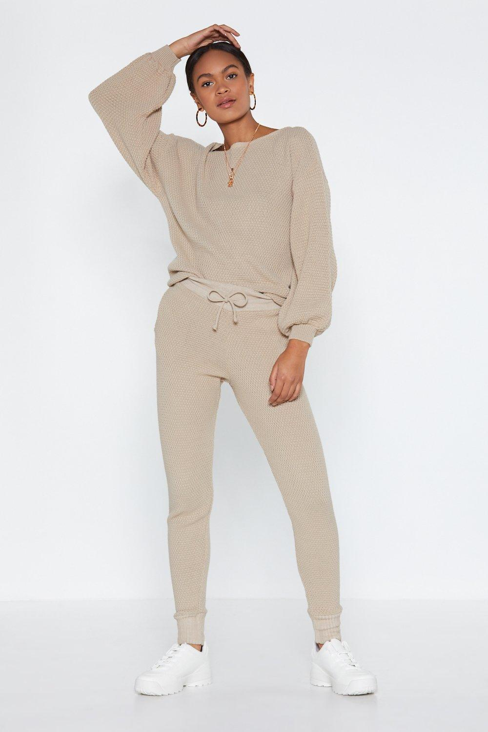 Knit Happens Sweater and Joggers Set