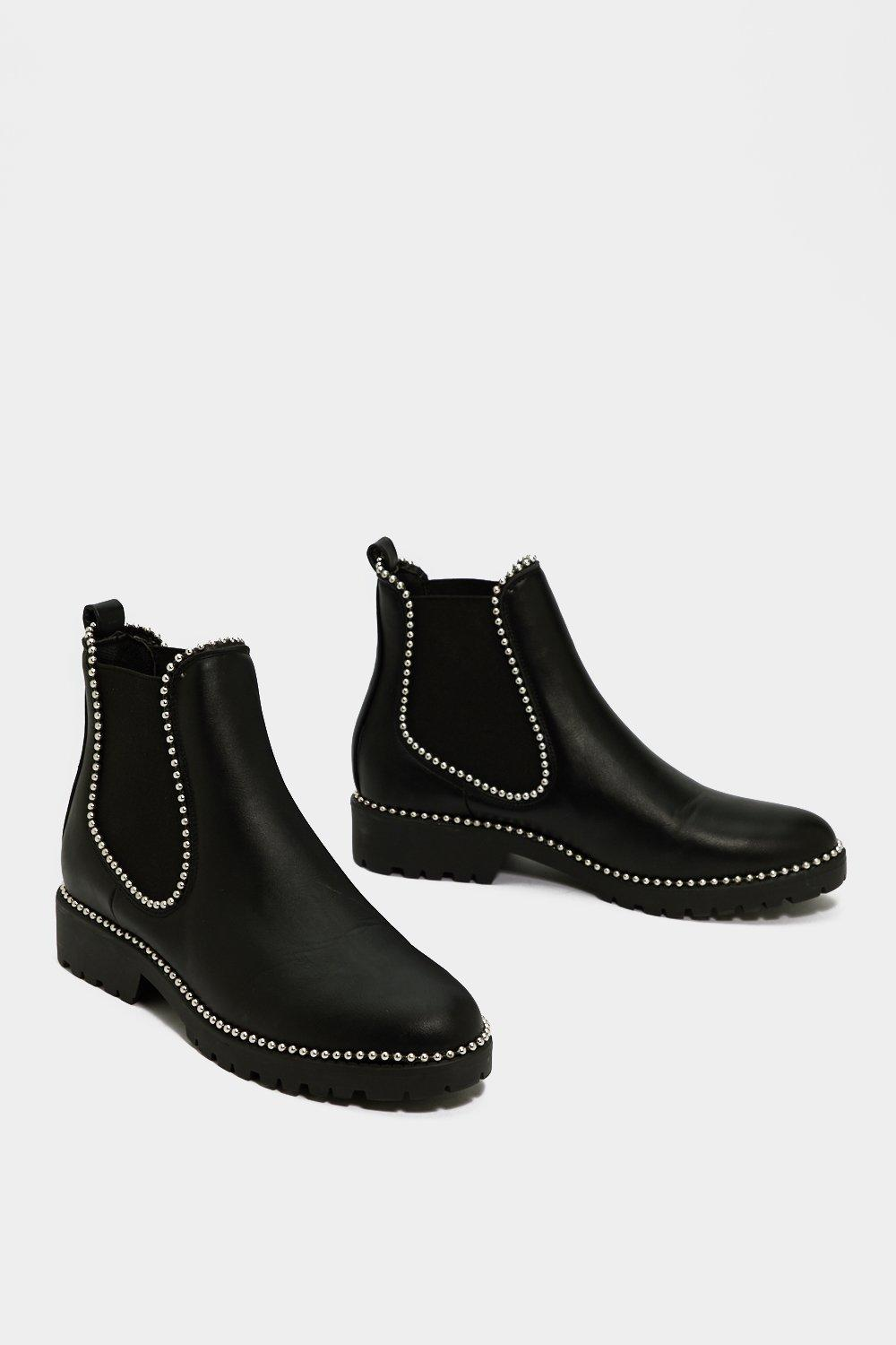 Image of Womens In It to Pin It Chelsea Boot - Black