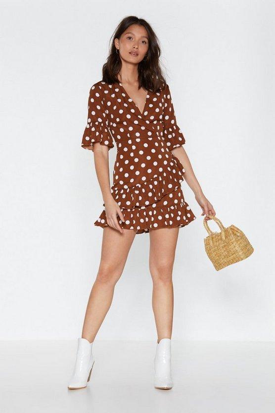 You Dot This Polka Dot Dress by Nasty Gal