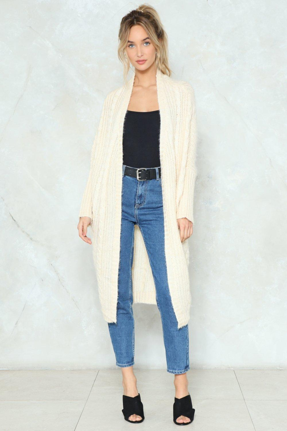 Knit Will Work Out Oversized Cardigan | Shop Clothes at Nasty Gal!