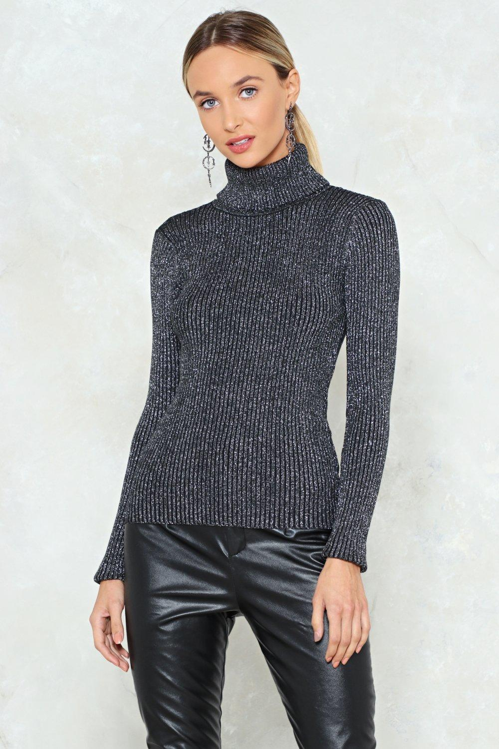 You Can Do Knit Turtleneck Sweater | Shop Clothes at Nasty Gal!