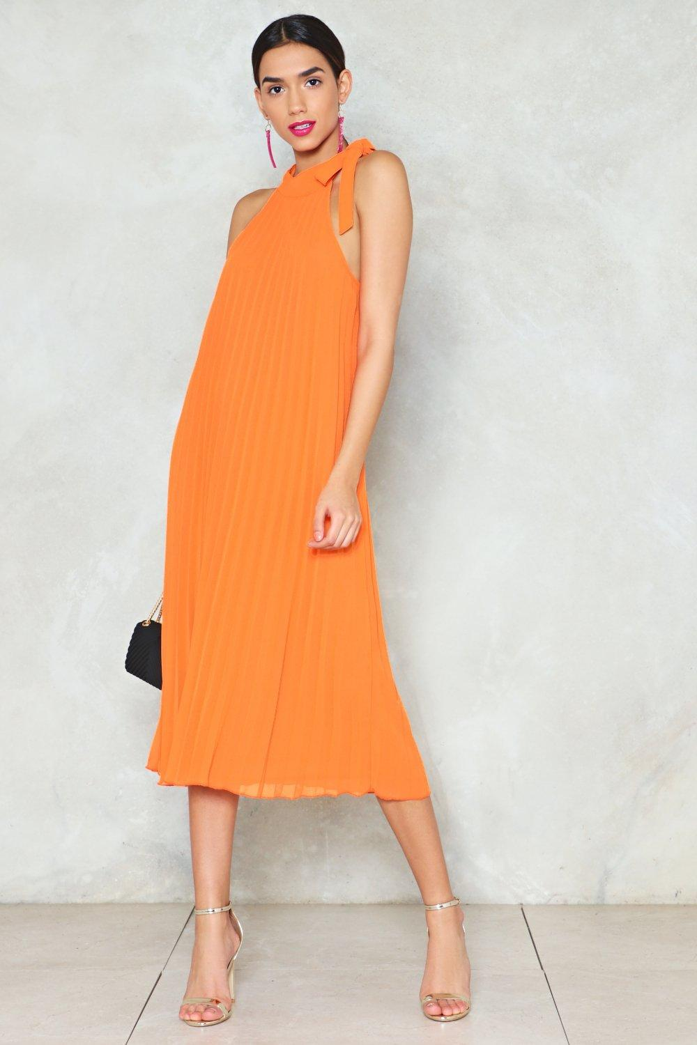 Dress with Pleats On Them
