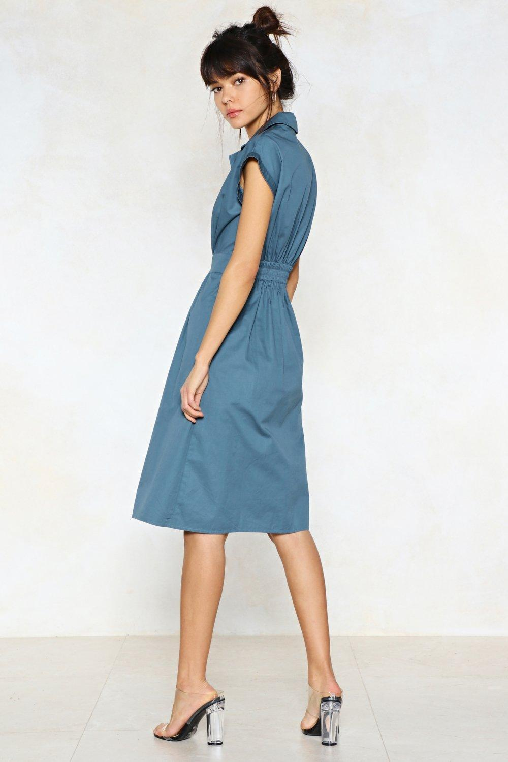 It Never Shirts to Ask Midi Dress | Shop Clothes at Nasty Gal!