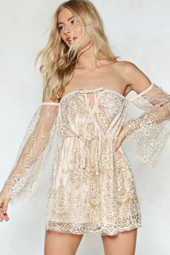 Right Lace Mesh Romper by Nasty Gal