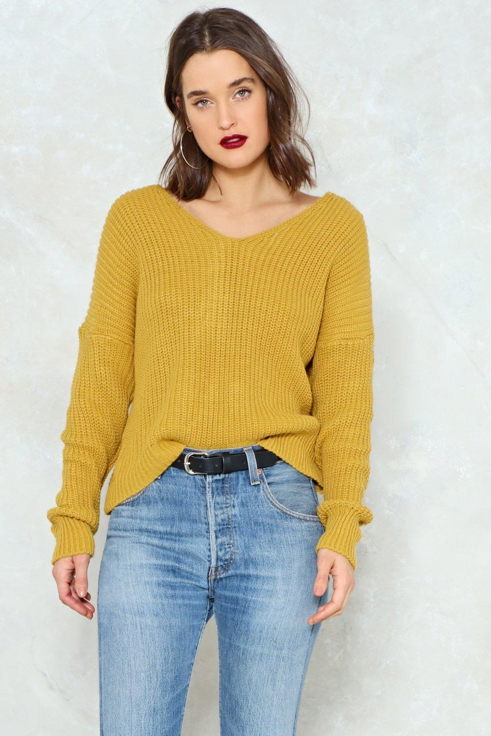 Knot My Fault Oversized Sweater | Shop Clothes at Nasty Gal!