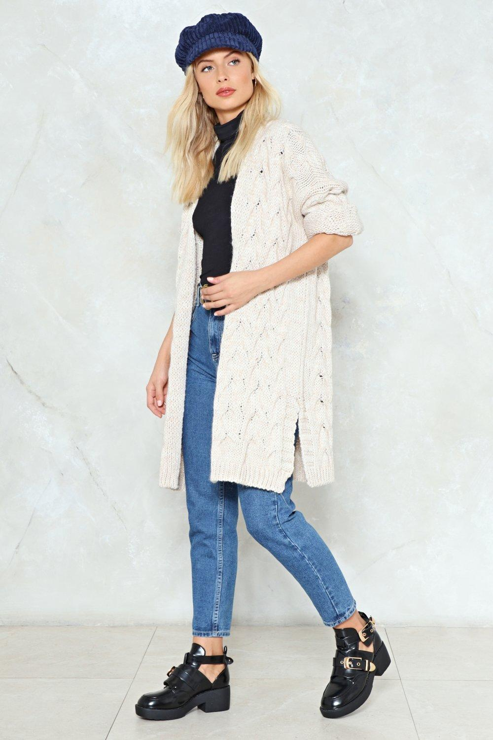 Get Knit Done Longline Cardigan | Shop Clothes at Nasty Gal!