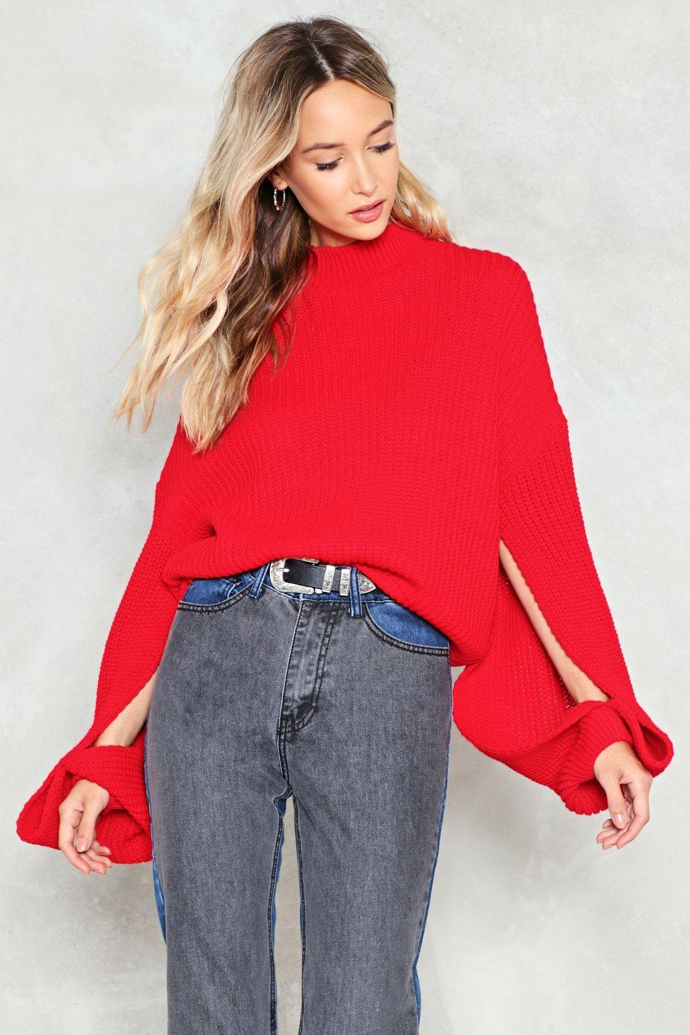 Every Little Split Helps Oversized Sweater | Shop Clothes at Nasty ...