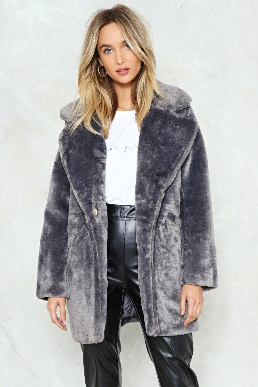 All Fur The Glory Faux Coat