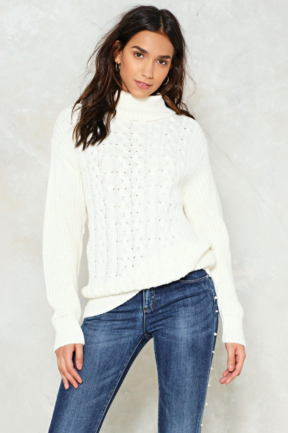 That's Knit Chunky Sweater | Shop Clothes at Nasty Gal!