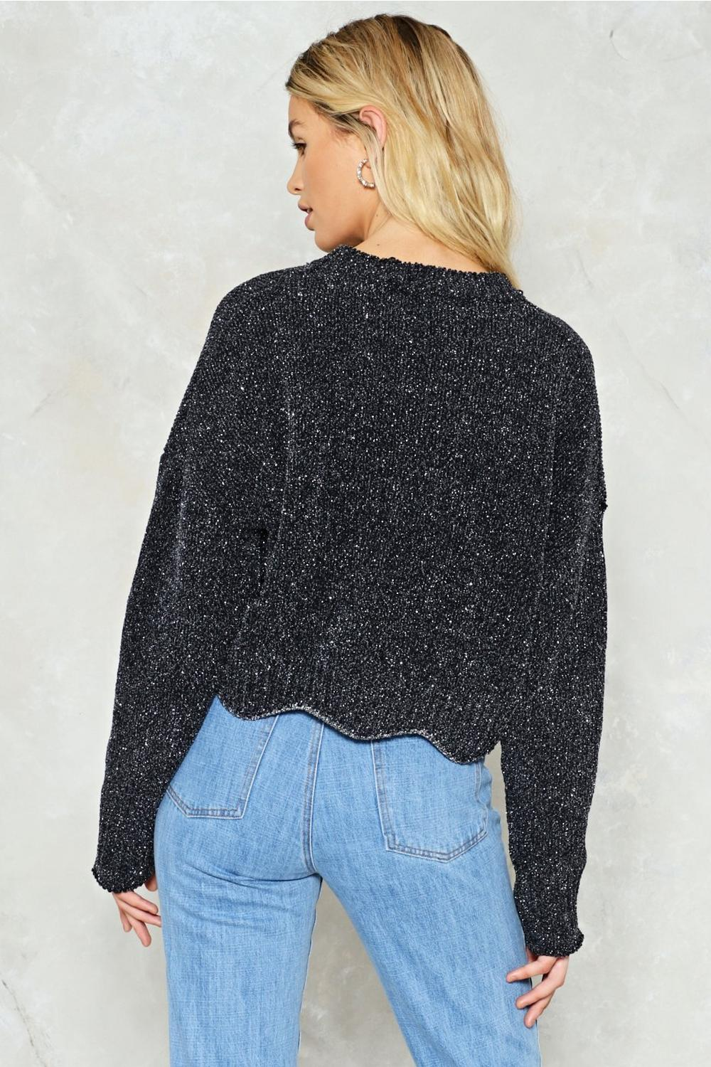 Big Break Glitter Sweater | Shop Clothes at Nasty Gal!