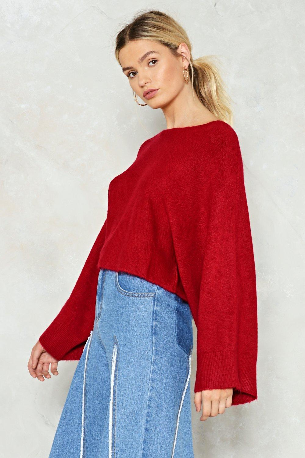 You'll Make Knit Cropped Sweater | Shop Clothes at Nasty Gal!