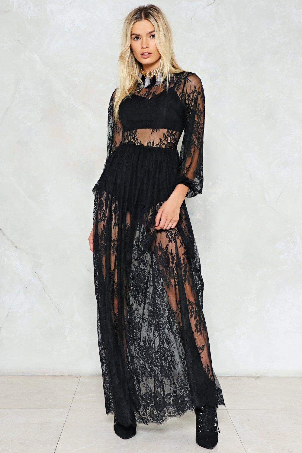 Endless Lace Maxi Dress | Shop Clothes at Nasty Gal!